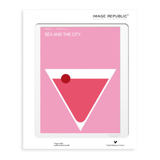 EXERGIAN TV SEX AND CITY Wandbild 30x40cm by Image Republic: